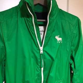 AF 防潑水 防風 綠色 外套 1200誠可議價