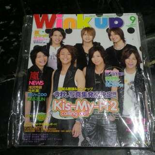 Wink Up Magazine Kis-My-Ft2 Cover