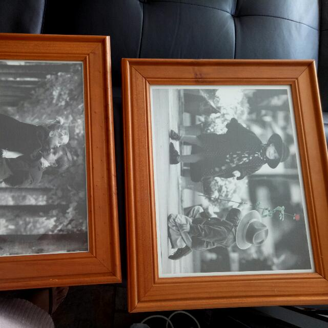 2x Cute As Framed Photos