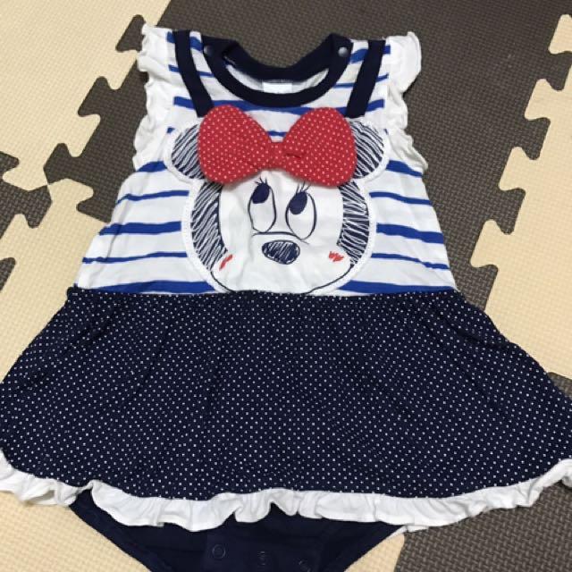 3-6個月 #嬰兒 #寶寶 #女寶 #洋裝 #包屁衣 #便宜 #出清 #買到賺到 皆穿不過3次 9.5成新 #無髒污 出自麗嬰房、