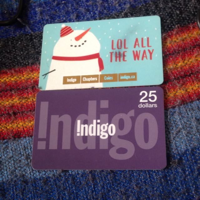 $50 Chapters/Indigo/Coles Giftcards
