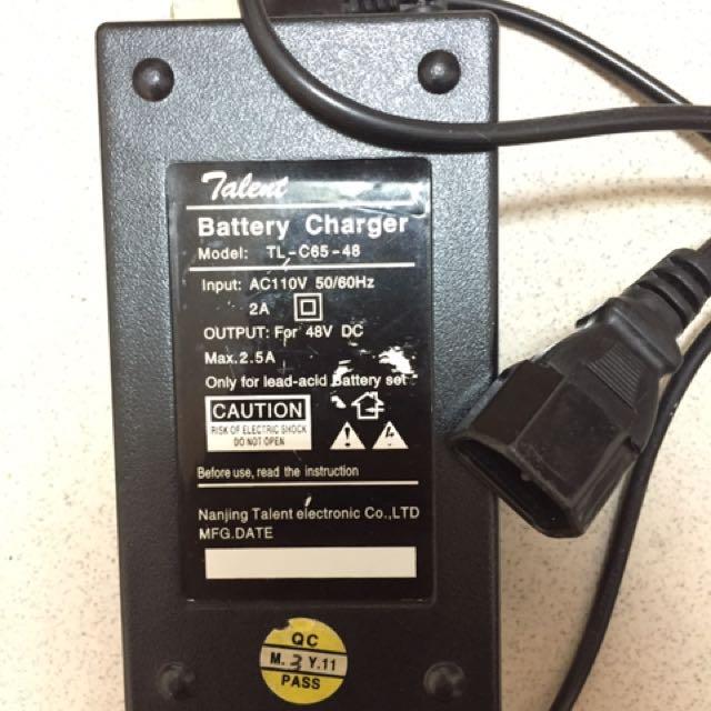 捷安特電動腳踏車充電器(大電池)