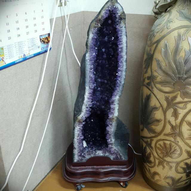 紫水晶加座(附輪子)