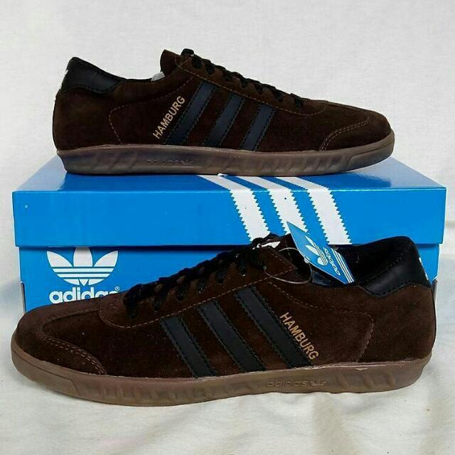 Adidas Hamburg Brown Black