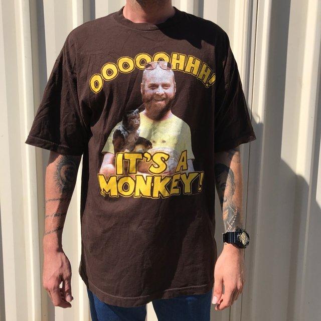 Alan the hangover oooooohhh! It's a monkey tshirt!