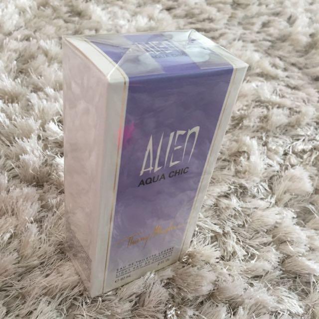 Alien Aqua Chic By Thierry Mugler Ladies Perfume
