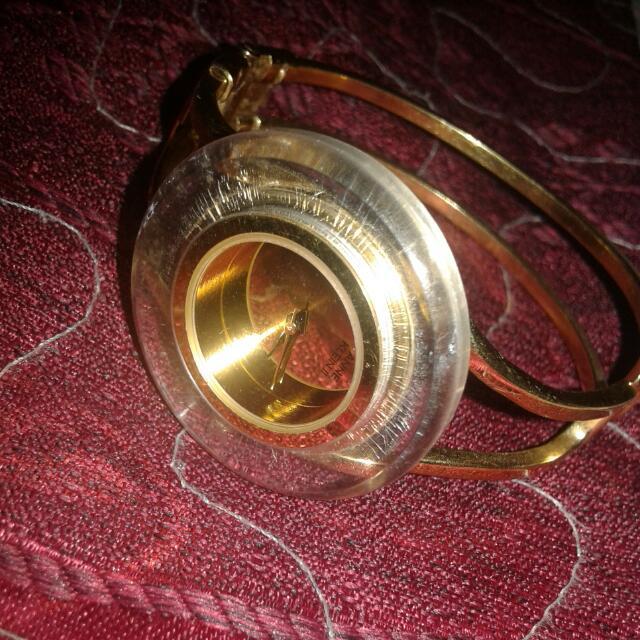 anne klein II bangle watch open for swap