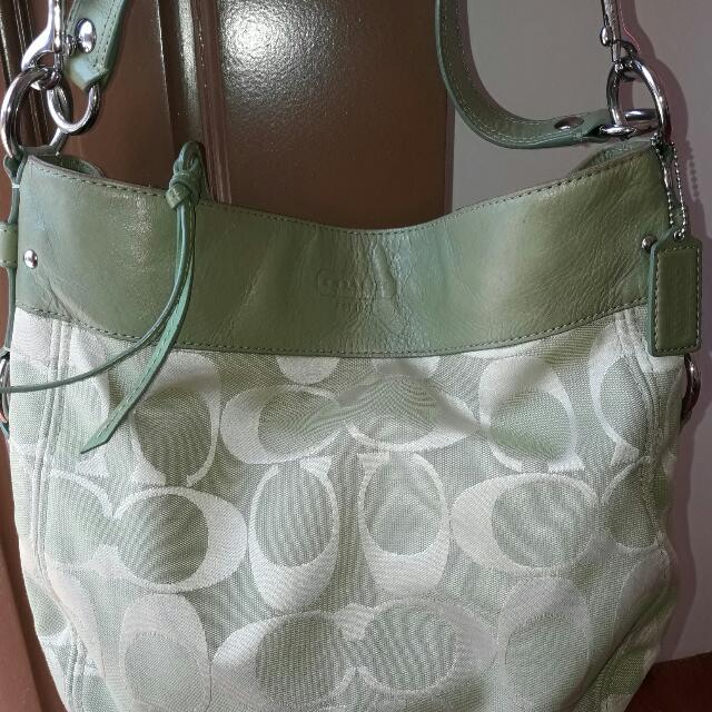 Authentic Coach 2-way Shoulder Bag