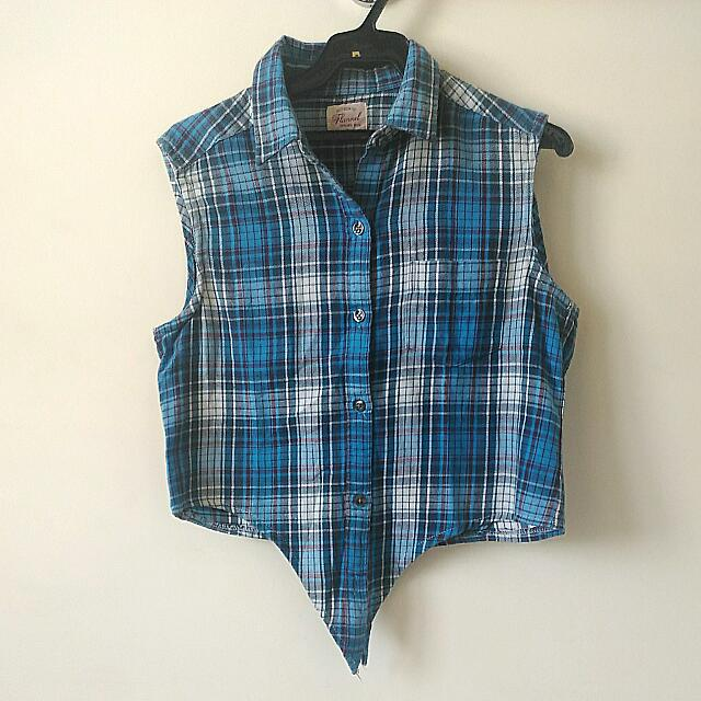 Authentic Flannel Checkered Top