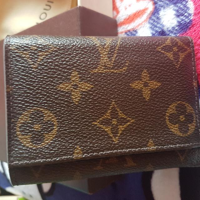 Authentic Lv Origami Wallet