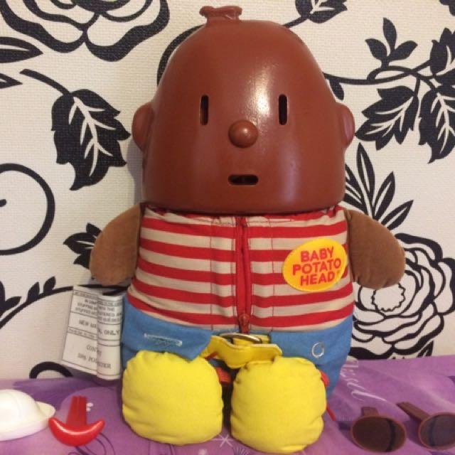 Baby Potato Head 馬鈴薯寶寶 早期美式幼兒玩具 收藏玩具 絶版玩具 二手玩具