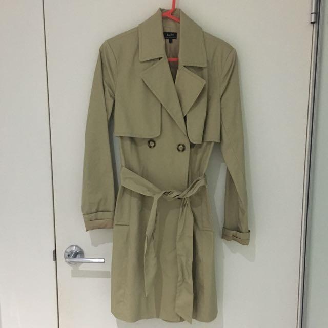 Bardot Cream Coat