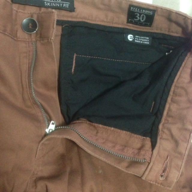 Billabong Size 30 Skinny Jeans