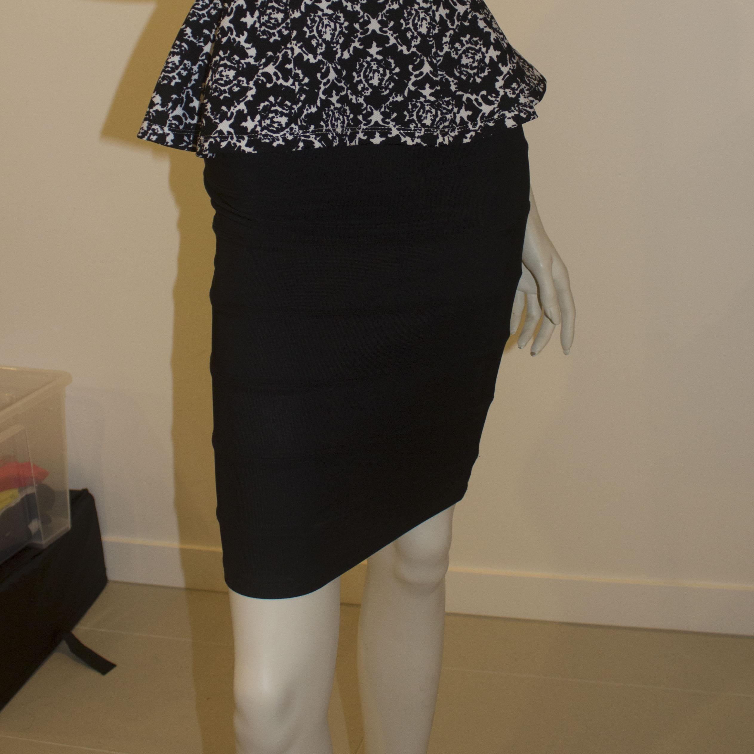 Black Skirt Size S