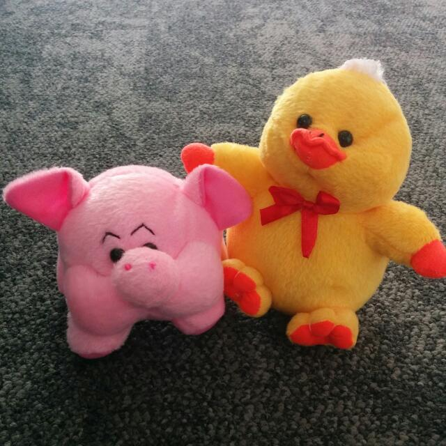 Boneka Duck And Pig