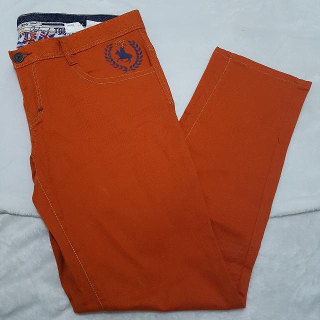Brand New Orange Pants