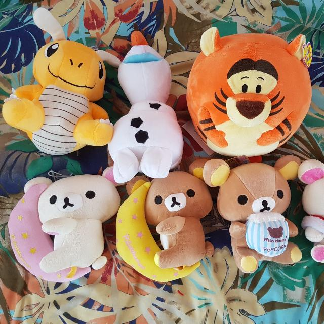 Brand New With Tags Assorted Soft Toys