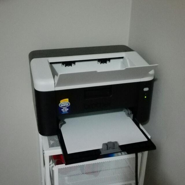 brother mini black and white laser print