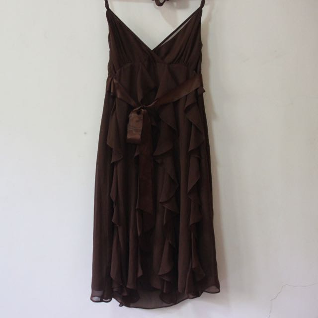 Brown Party Dress