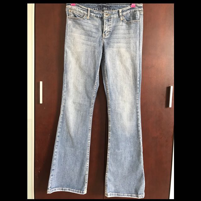 Celana Jeans Boot Cut...ESPRIT