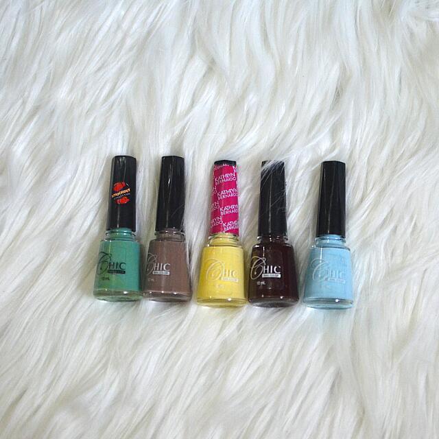 Chic Nail Polish Collection