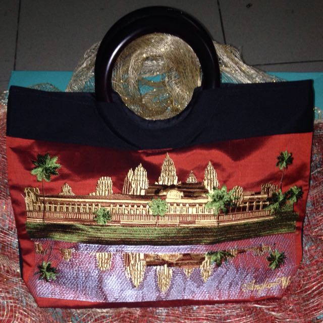 Chinese Red Tote Bag