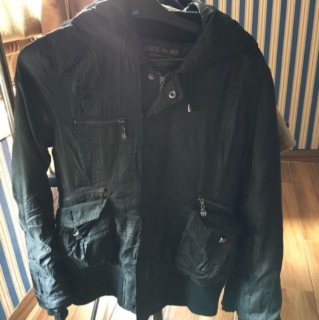 Coat winter jaket BLACK