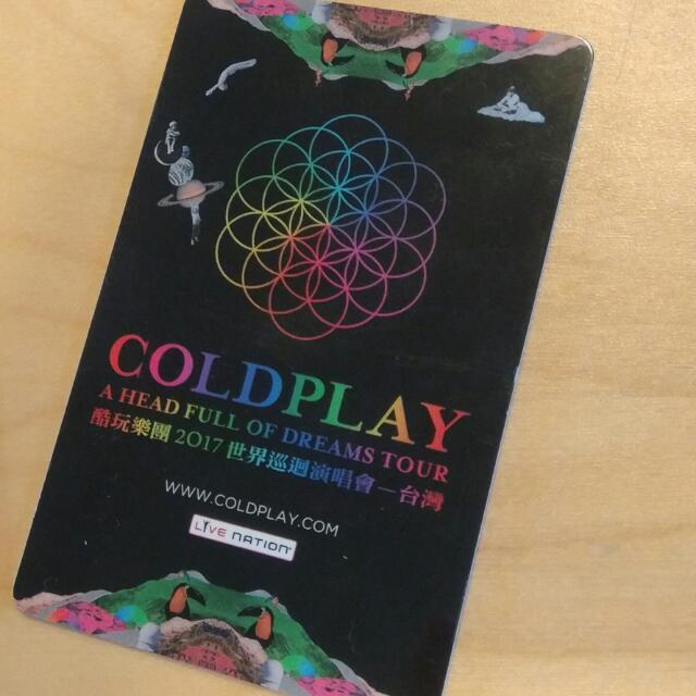 Coldplay : 台北桃園演唱會票 X1 (B3區)