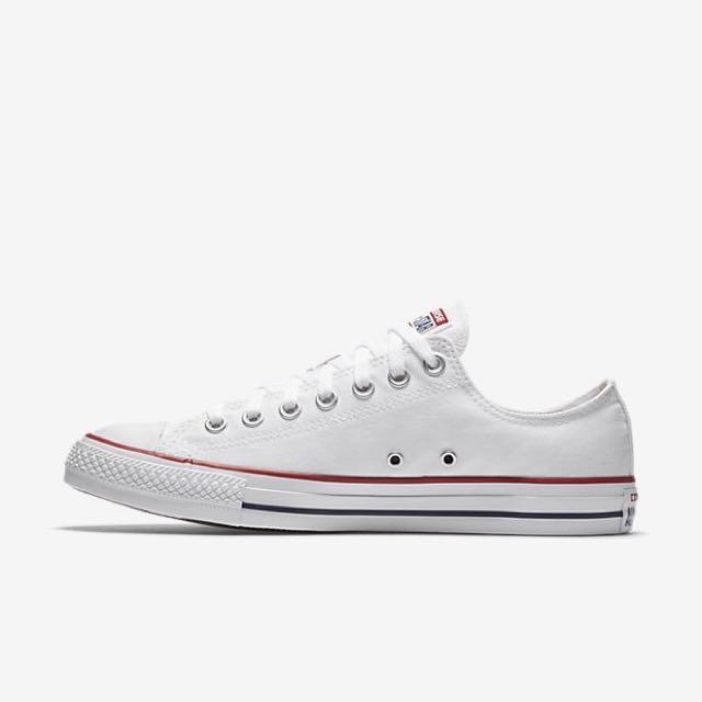 Converse 復古 帆布鞋 小白鞋 好搭