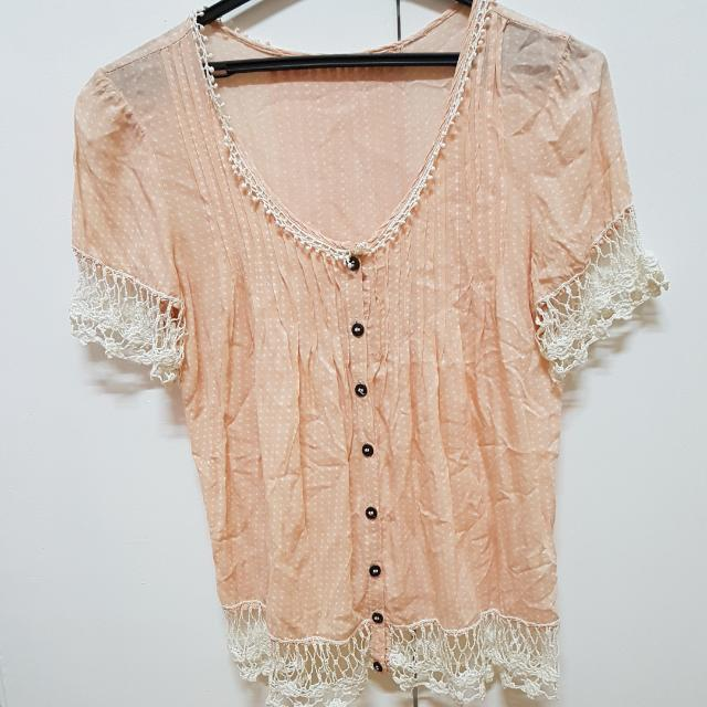 Dainty Summer Blouse