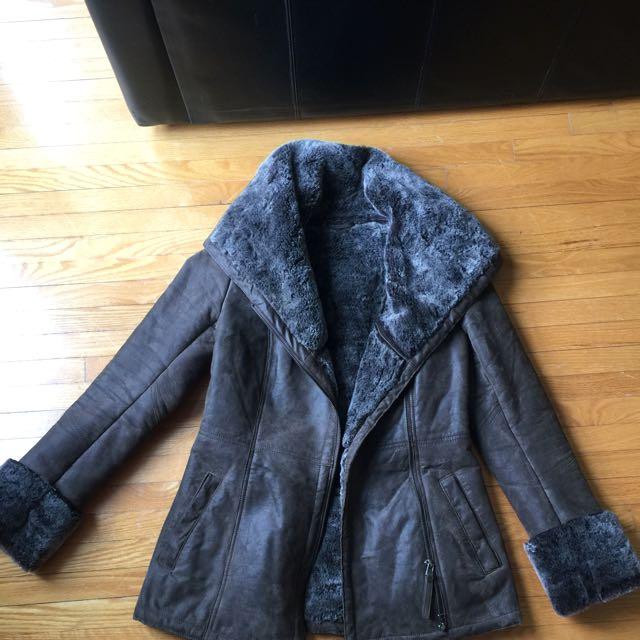 Danier Fur Coat
