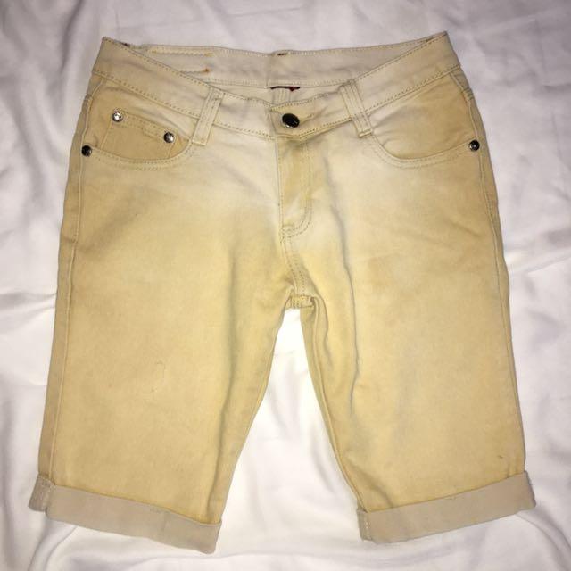 Denim Tokong// Long Shorts
