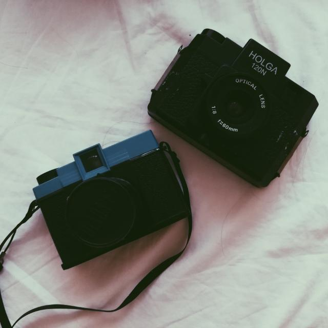 Diana F+ and Holga 120N