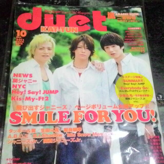 Duet KAT-TUN Cover