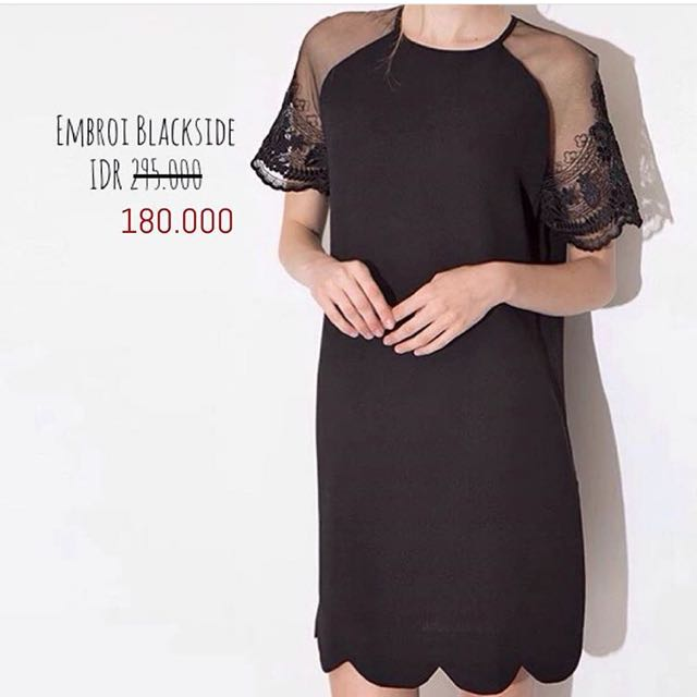 Embroi Blackside Dress