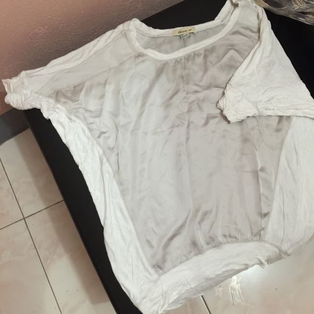 F21 Oversize Shirt With Silk and Cotton