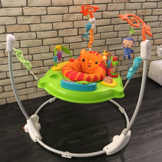 e97b944ee Fisher Price Roaring Rainforest Jumperoo (Free Activity Table ...