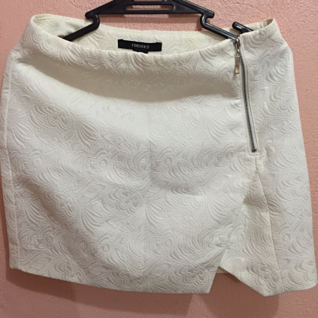 Forever21 White Skirt