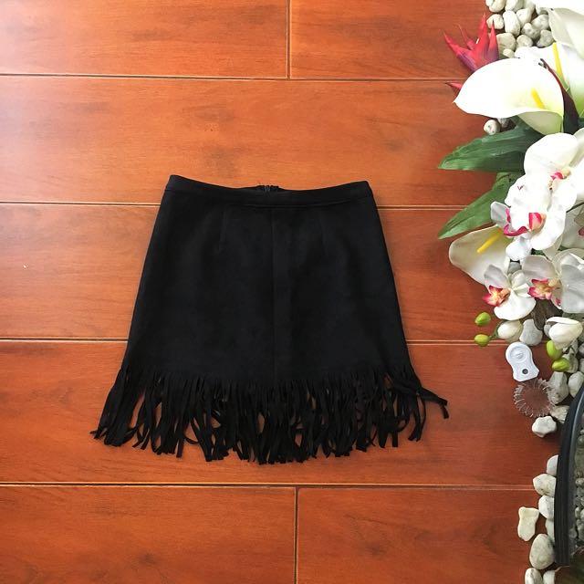 Fringe Boho Skirt