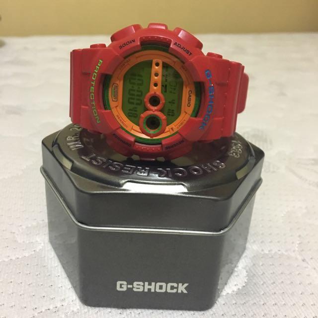 G Shock Casio Japanese Red