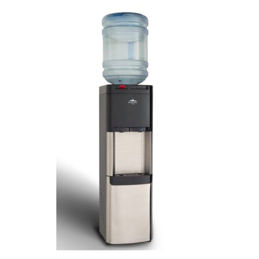 Glacial Hot & Cold Water Dispenser, Stainless Steel