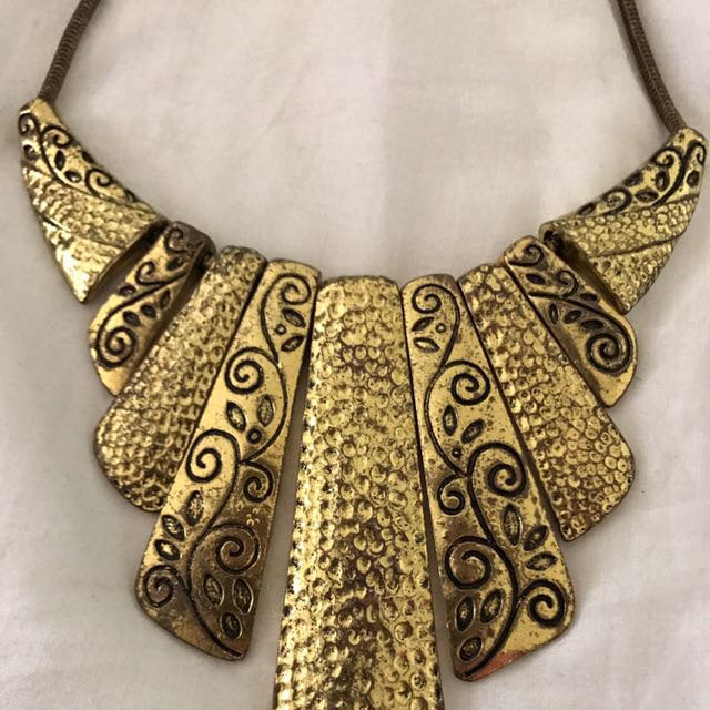 💕Gold Chunky Necklace