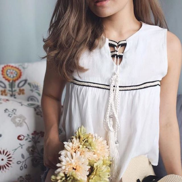 Hazel Tied Top