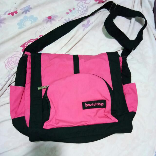 Heart Strings Strap Bag Large