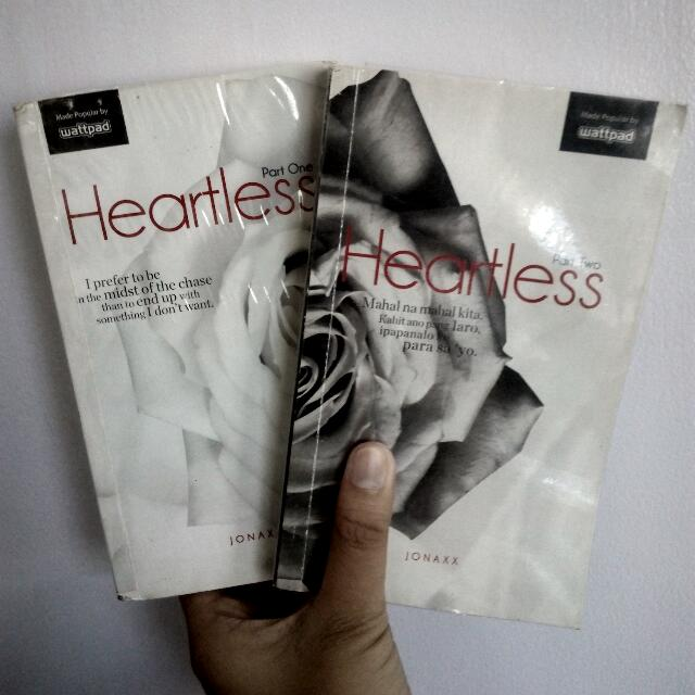 Heartless 1 and 2 By Jonaxx, Books, Books on Carousell