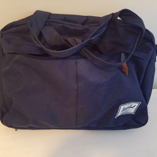 Herschel Navy Blue Side Bag