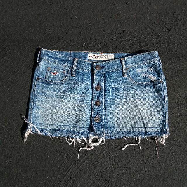 ❤ REPRICED ❤ HOLLISTER denim skirt