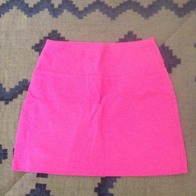 Hot Pink Miniskirt