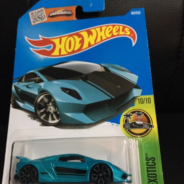 Hot Wheels Lamborghini Sesto Elemento Toys Games Other Toys On