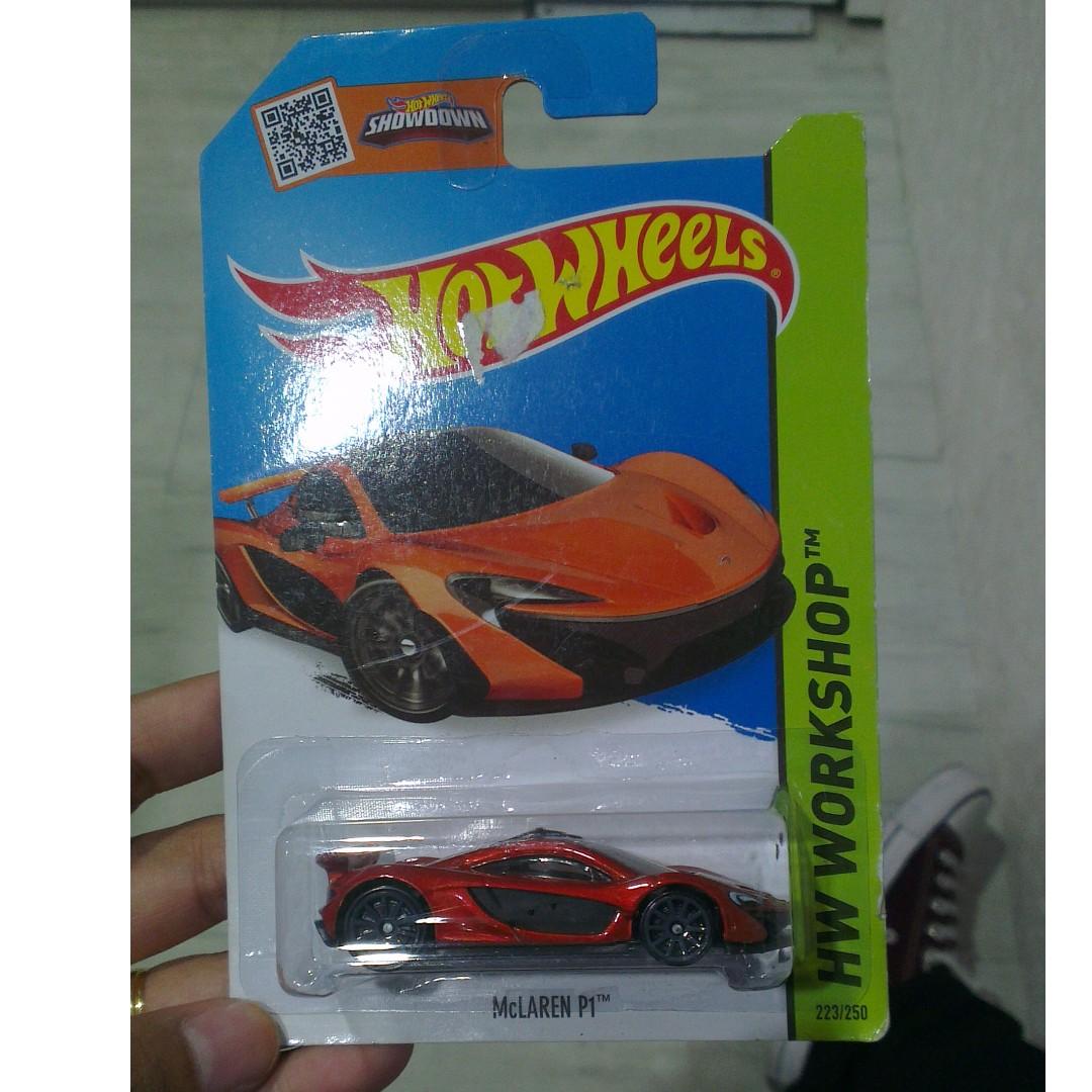 Hotwheels Mclaren P1 Orange Toys Games On Carousell Hw Mc Laren Photo